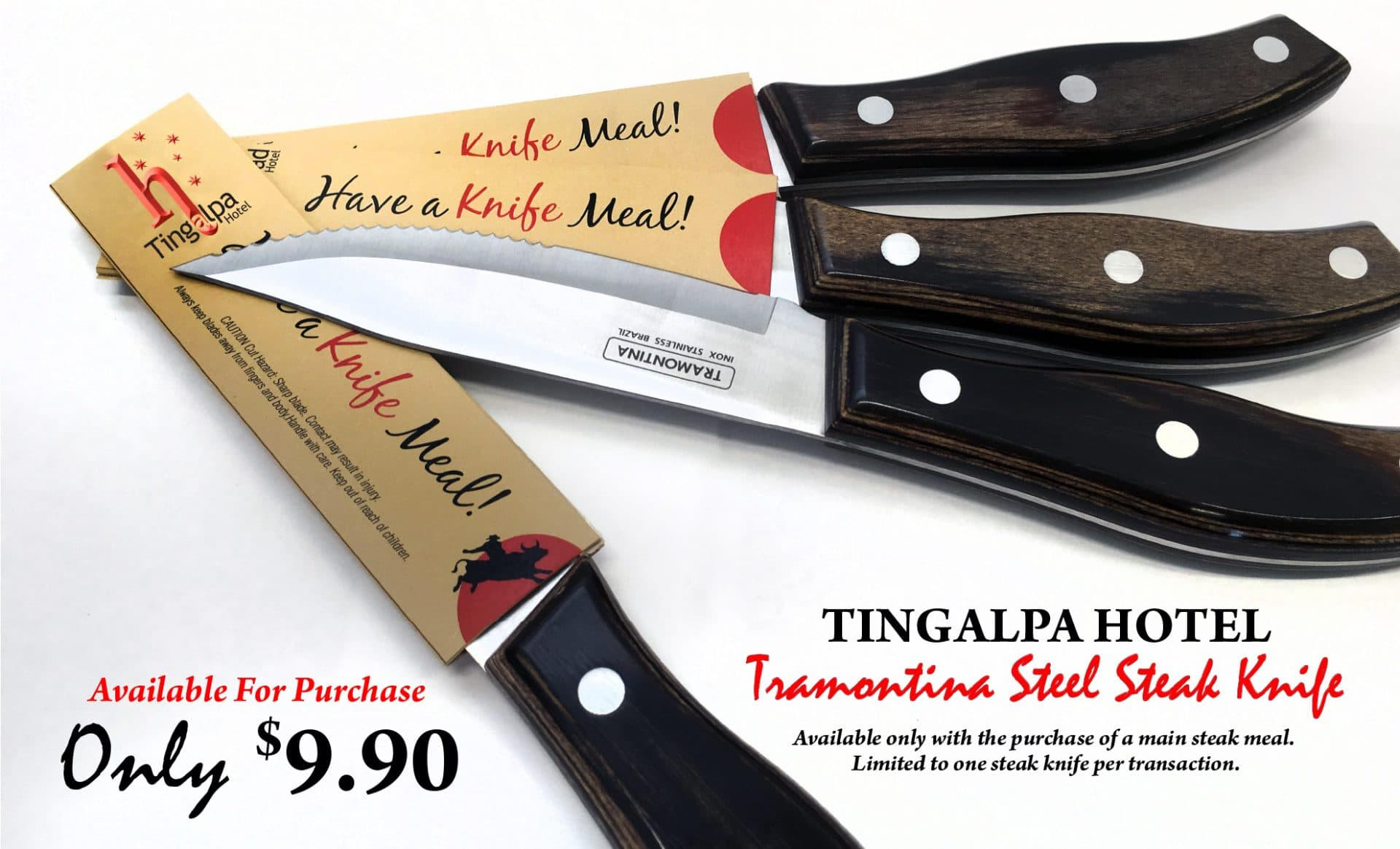 Tramontina Steak Knife Tingalpa Hotel