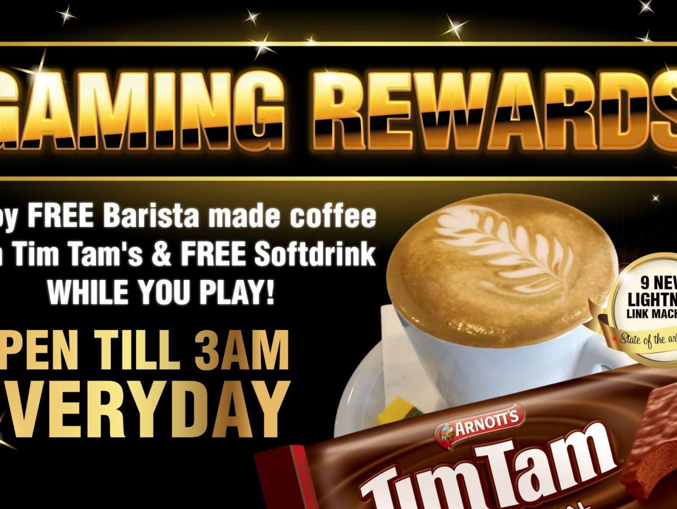 Guaranteed Gaming Rewards
