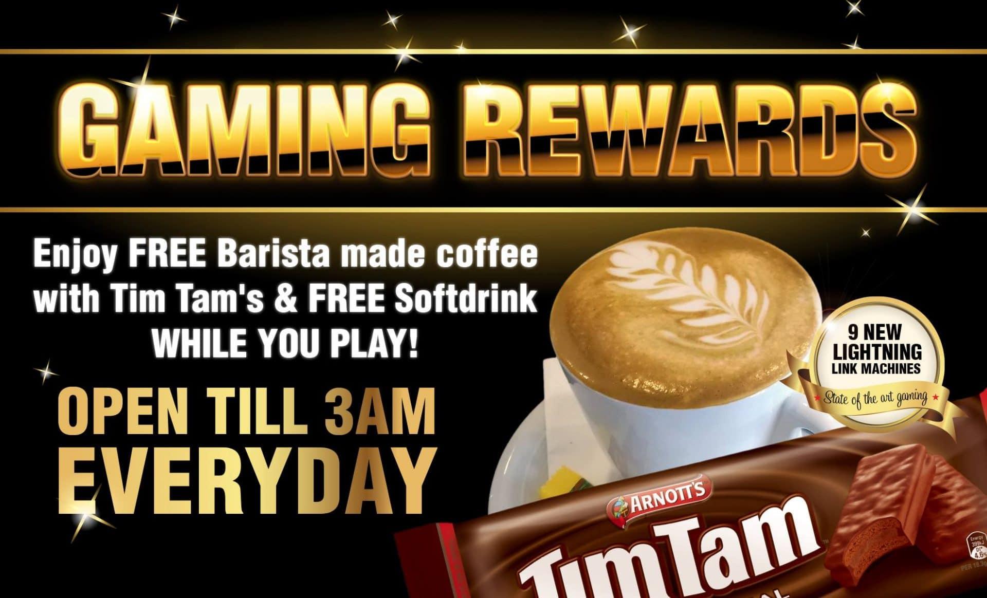 Gaming Rewards Tingalpa Hotel
