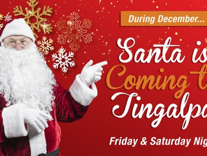 Santa Sightings in Tingalpa!