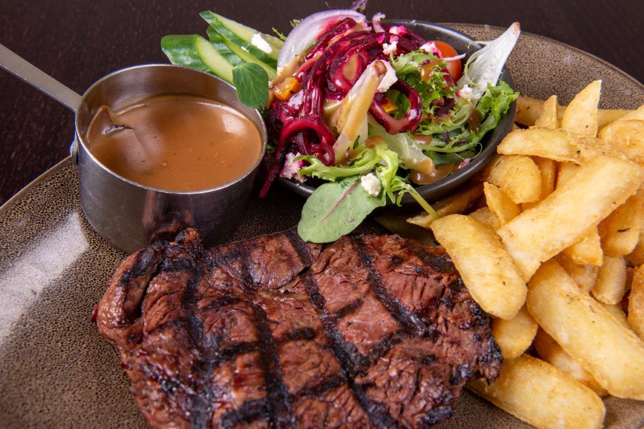 Restaurant Steak Meal