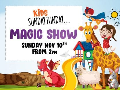 Kids Sunday Funday - November Magic Show