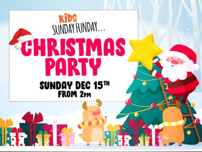 Kids Sunday Funday - December Christmas Party