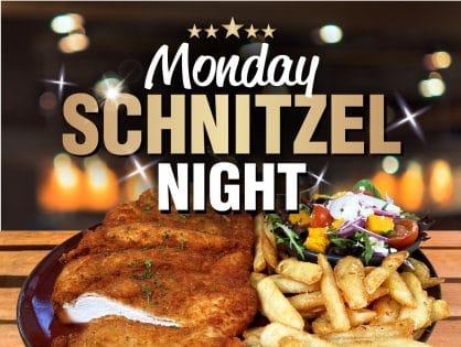 Monday Schnitzel Night