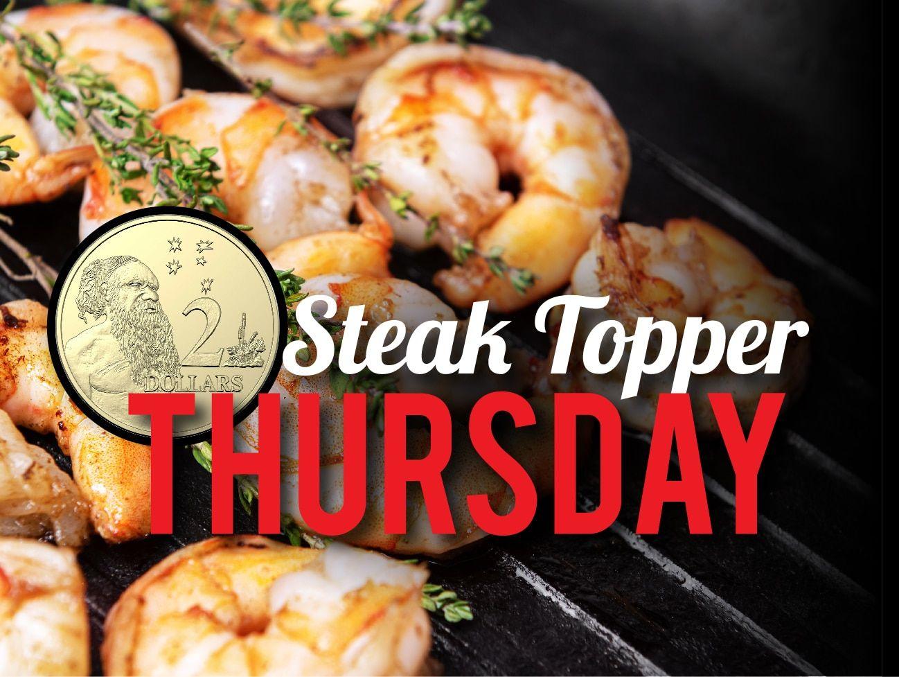 Steak Topper Thursday