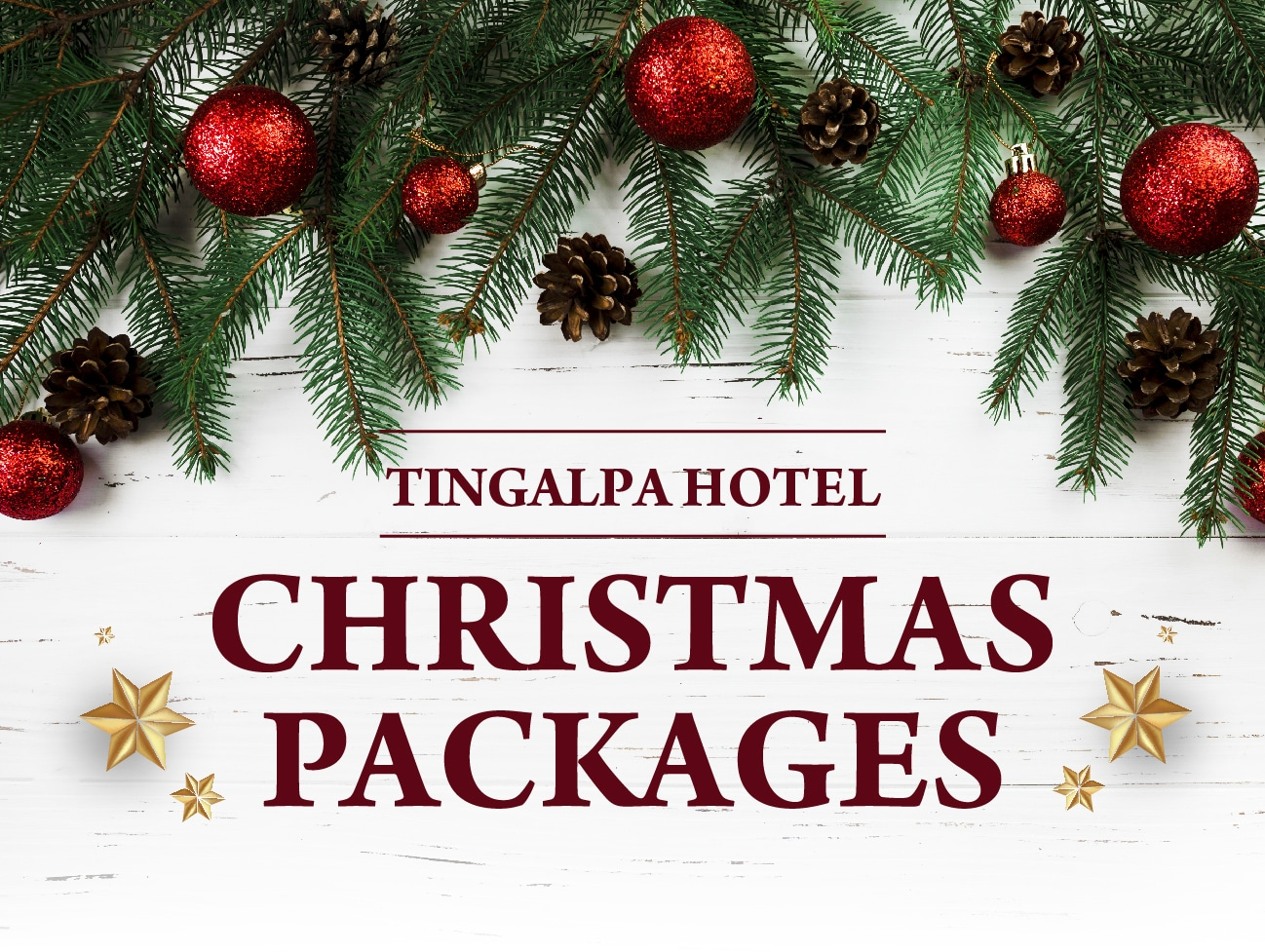 Tingalpa Hotel - Christmas Packages