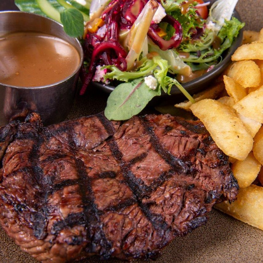 Rump Lunch Special at Tingalpa Hotel